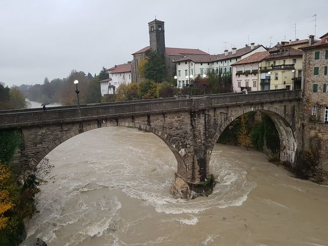 On natisone rabbioso Bridge - Man Made Structure Water Building Exterior Outdoors Bridge Natisone Italia Friuli Venezia Giulia Udine Italy