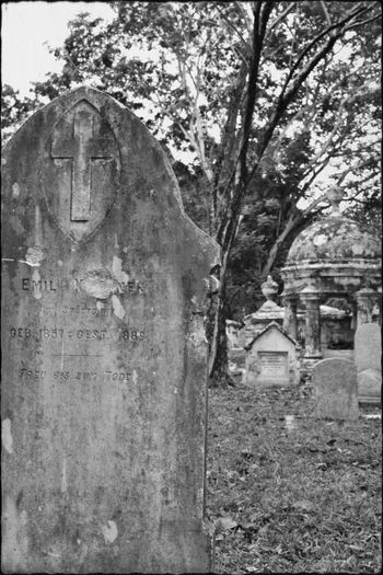Melancholic Landscapes Graveyard Beauty Historic Cemeteries Malaysia Georgetown NikonD3100 EyeEm Best Shots - Black + White Black And White Photography Memories Death Note