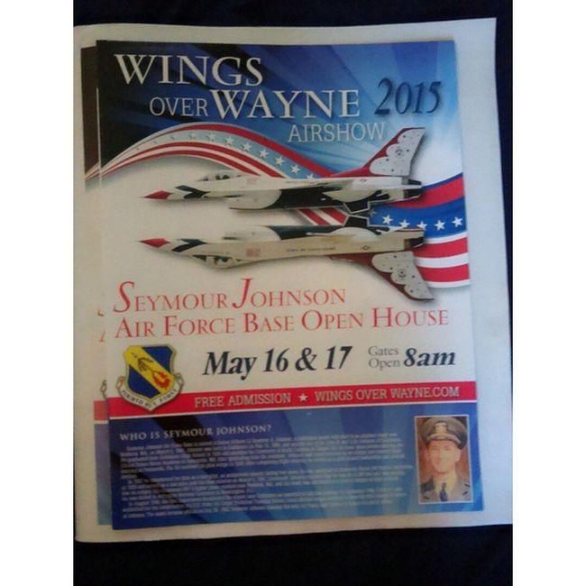 Wingsoverwayne USAF F15strikeeagle Thunderbirds can't wait till tomorrow ❤