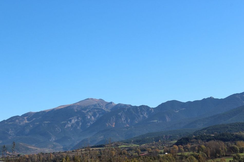 Mountain Copy Space Mountain Range Blue Clear Sky Tranquil Scene Nature Scenics Beauty In Nature Tranquility No People Landscape Day Outdoors Gironamenamora SPAIN Nature Clear Sky Beauty In Nature Tranquility