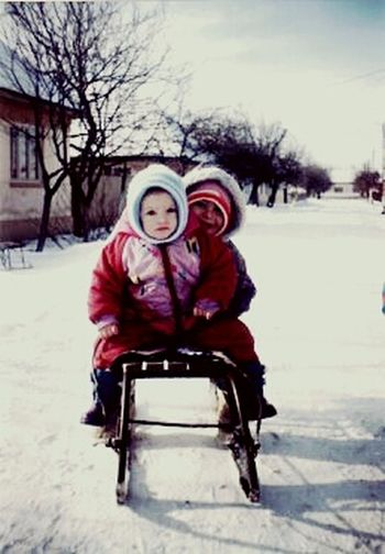 Brotime Oldpicture Snow ❄ Enjoying Life Hello World Streetphotography Mybrother <3 Childhood Memories