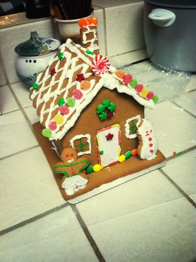 Gingerbread Houses:)