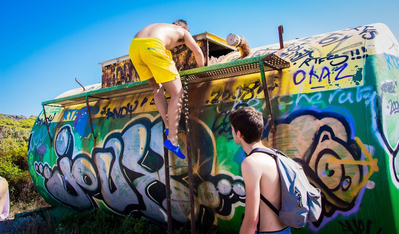 Long Goodbye Sunlight Sun Sky Manvsnature  ManmadeVsNature Streetart/graffiti Junkyard Live For The Story