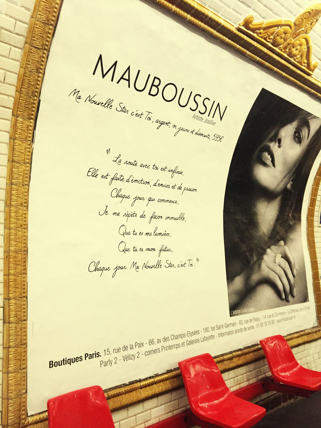 Metro Paris Mauboussin