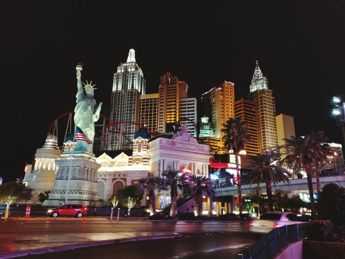 Cities At Night Huawei Mate 8 Las Vegas Mate8 Huawei Mate8