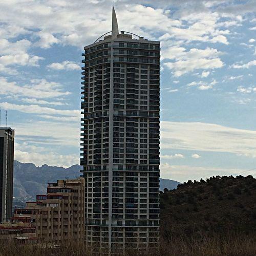 Tall building Skyscraper Architecture Cloudy Day