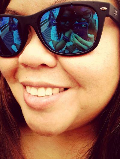 Cool sunglasses Taking Photos
