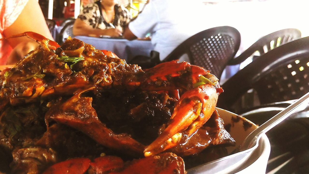 Show Us Your Takeaway! Food Crabs Goan Shak Shak Tasty Spicy Crab Yummy