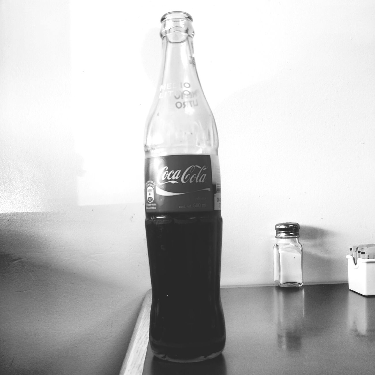 Taking Photos Enjoying Life Coca-cola Black And White