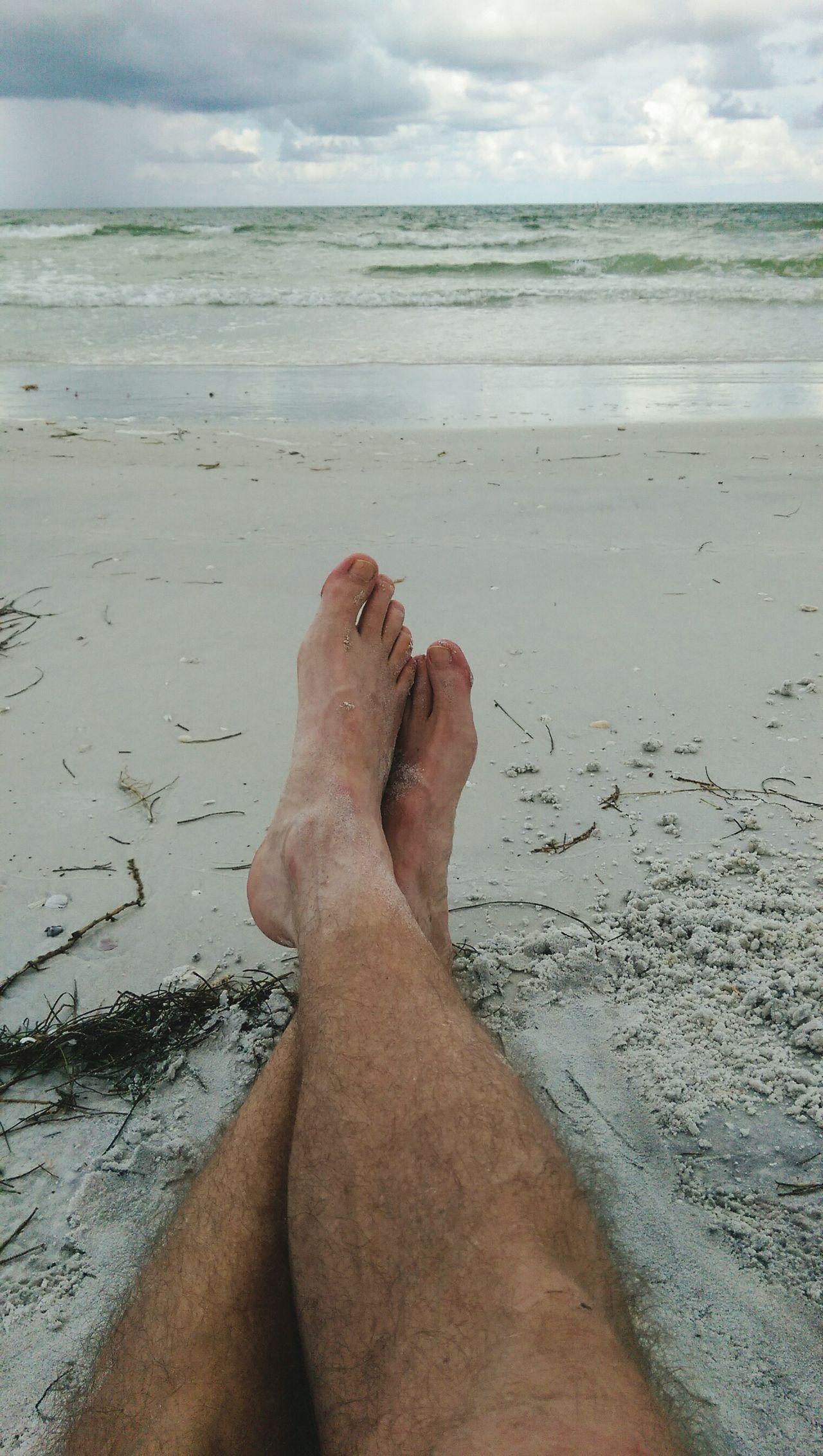 Beautiful stock photos of florida, Barefoot, Beach, Cloud - Sky, Day