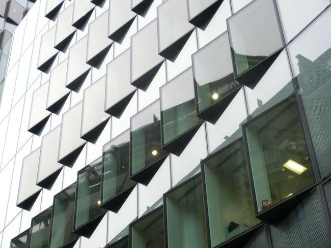Building Buildings Light London Reflection Windows