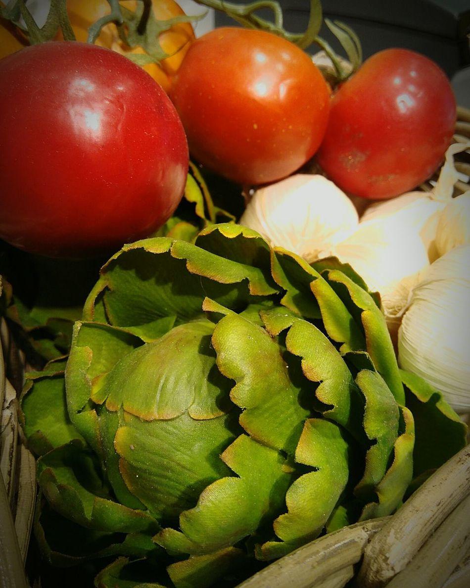 Natural Sano Ecologico Ecologic Alcachofa Alimento Comida Ajo Tomate Tomatoe Garlic Food Huerto Lechuga
