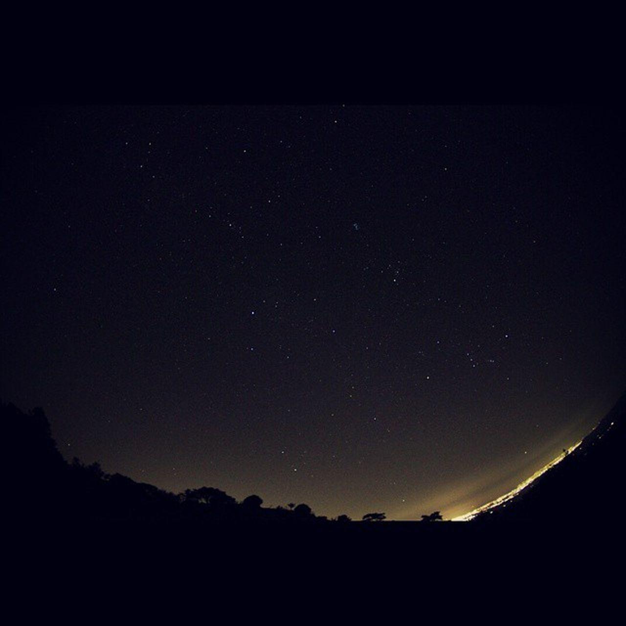 やっと月の無い、雲もない夜が来た 青山高原 夜空 星空 Star nightview