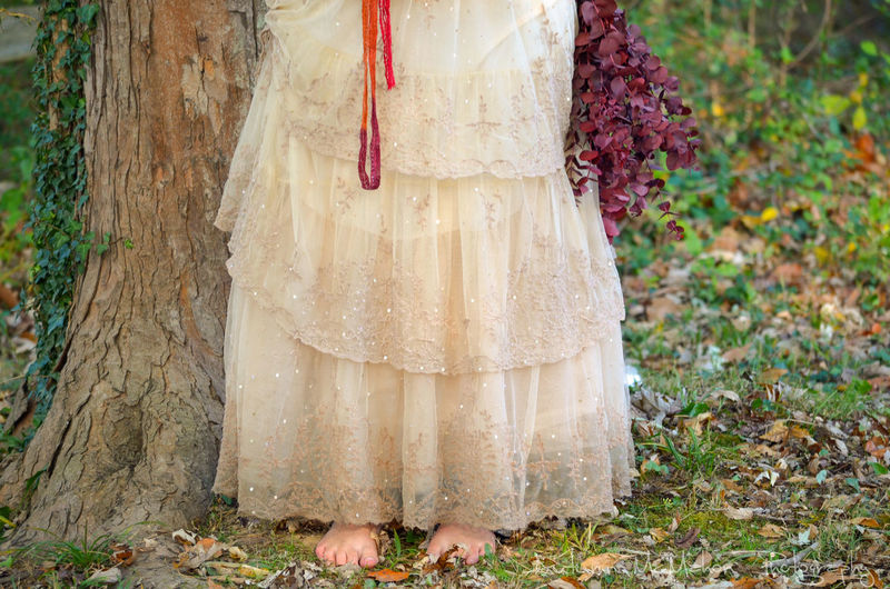 Feet Feet On The Ground Adult People Day Standing One Person Nature Outdoors Human Body Part Toes Dirt Dress Wedding Dress Wedding Photography Wedding Nature Women Real People Only Women Adults Only