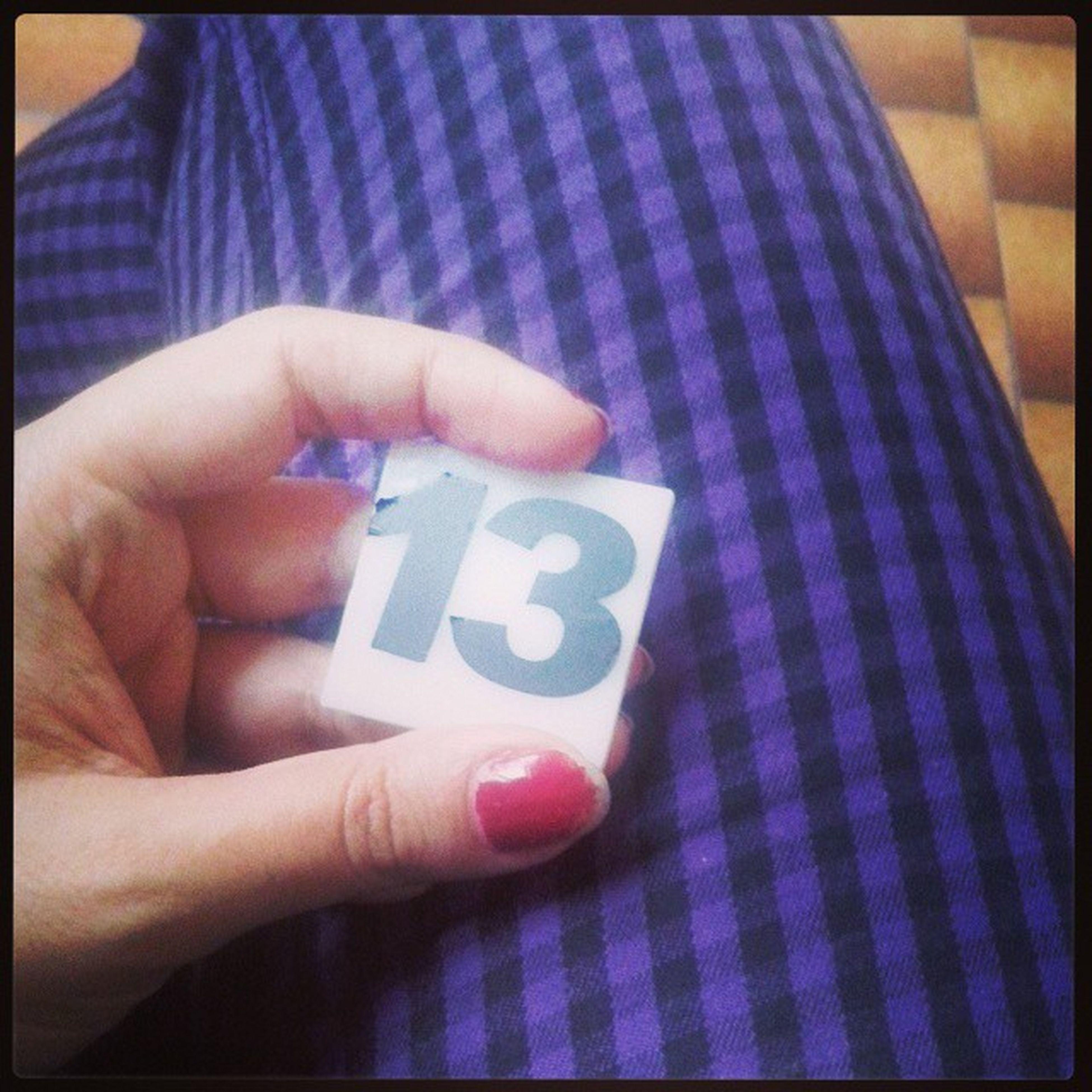 Dai che ho il Numero 13 ... su 13 SOB Natipersoffriggere legioiediandaredalmedico