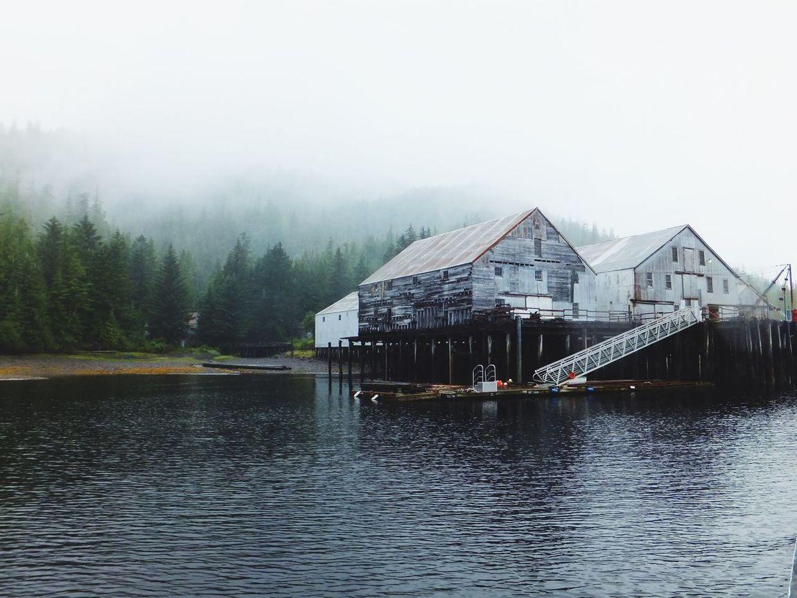 Salmon Cannery in Alaska