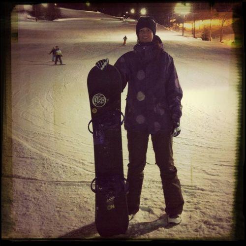Snowboarding Is Fun!