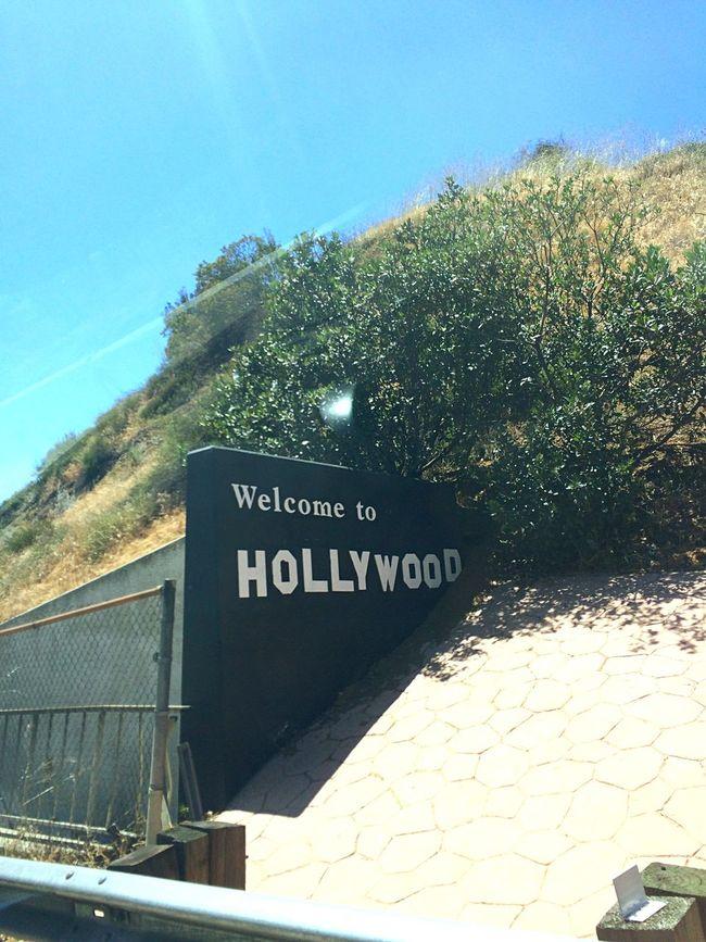 アメリカ カリフォルニア ロサンゼルス ハリウッド サイン USA CA La Hollywood Hollywood