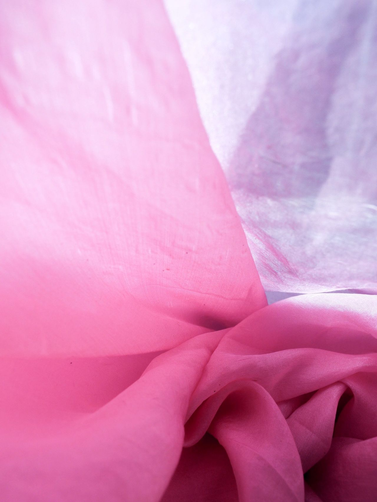 Fragility Pink Color Close-up Backgrounds Full Frame Freshness Silk Fabric Light And Shadow Softness Pastel Colors