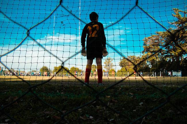 Day Deporte Futbol Kid Outdoors Portero Soccer Game Soccer⚽