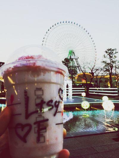 Have a nice day❤︎ Travelingfoot Starbucks Yokohama Minatomirai