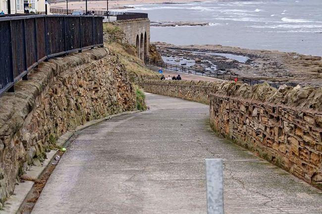 Whitley Bay Tyneside Beach Landscape