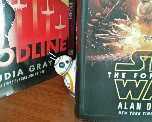 Starwars TheForceAwakens Bb8 Modelkit Books Droid Peeking