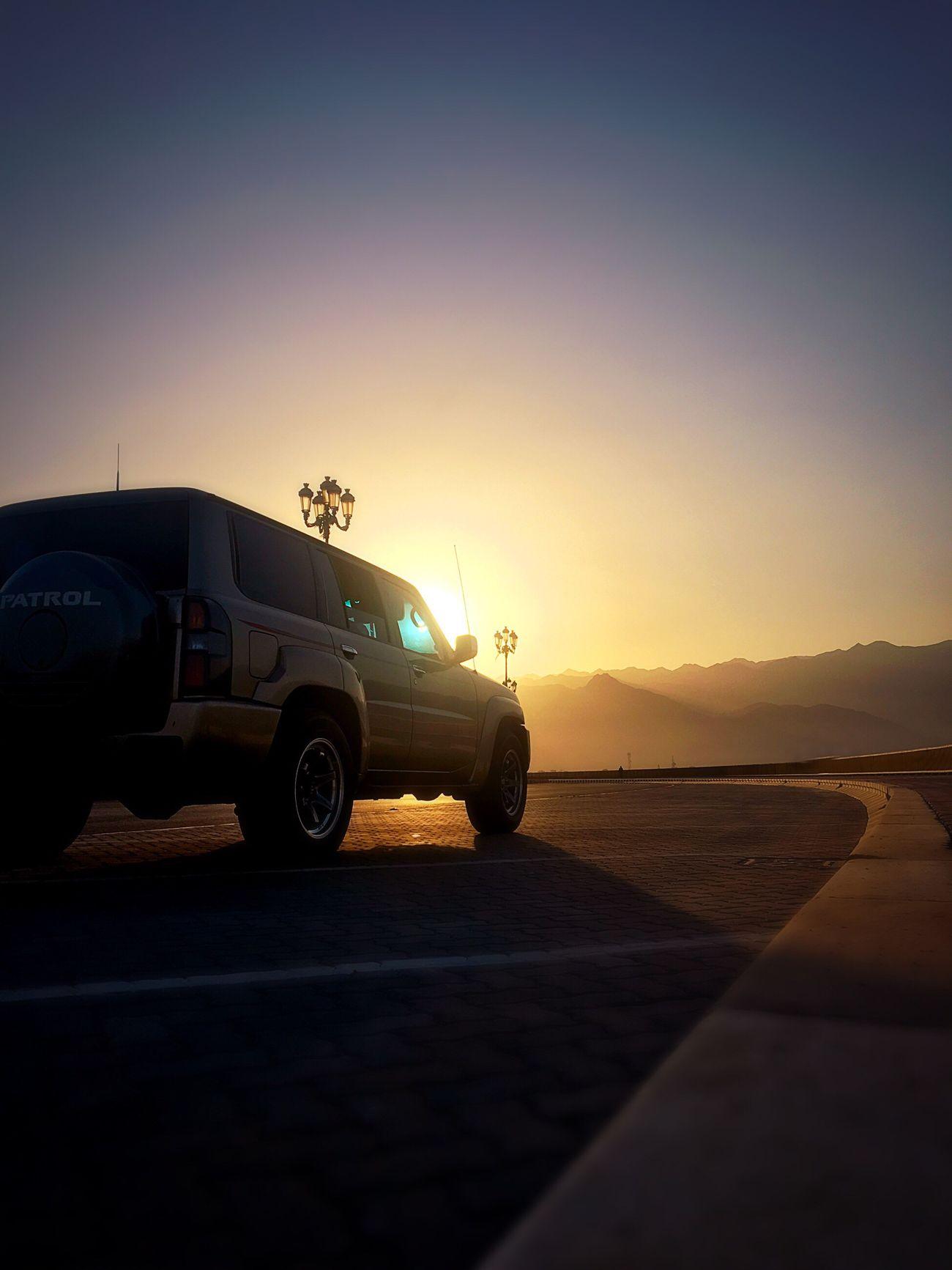 Fujairah UAE Nissan Patrol  Sunset Mountains First Eyeem Photo