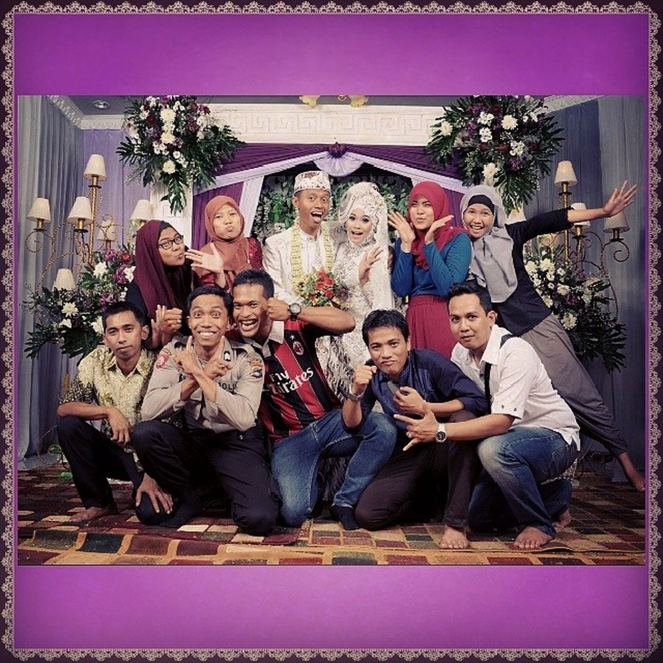 The Wedding Instalike Instawedding Instabanjar Instabungas bridal with friends
