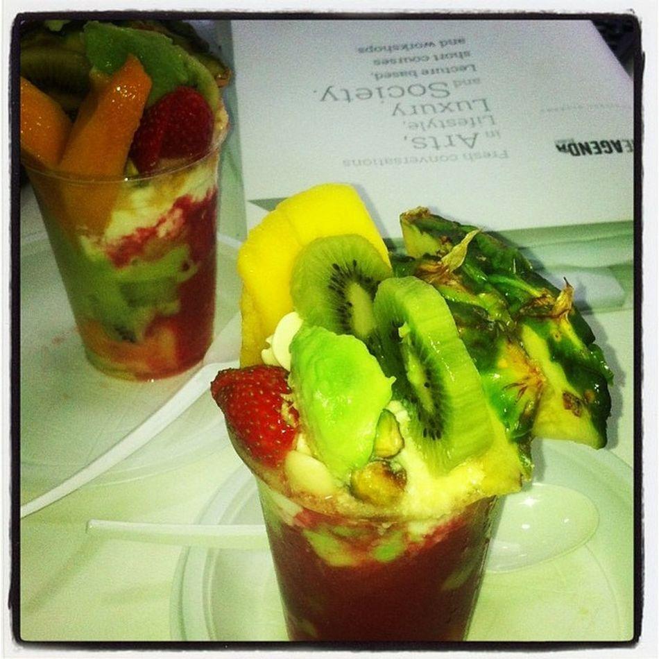 Nth beats an afternoon Fruitcocktail ☺ @tonyaboughazaly @theagendabeirut