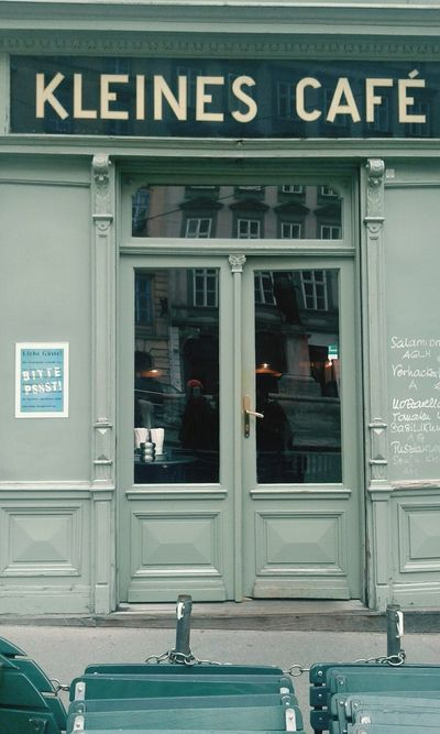 The smallest cafe shop in Vienna. But the service is not nice as it's suppose to be.