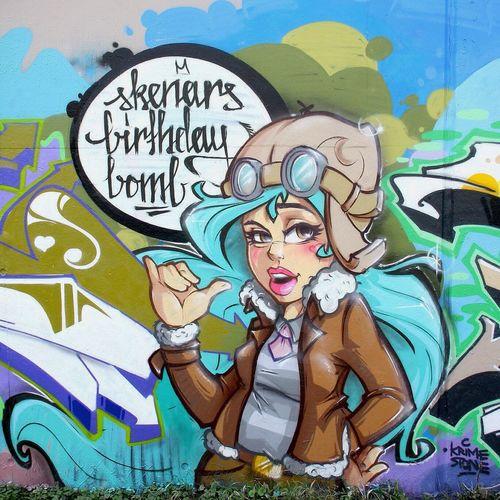SBB Stereoheat Graffiti Street Art