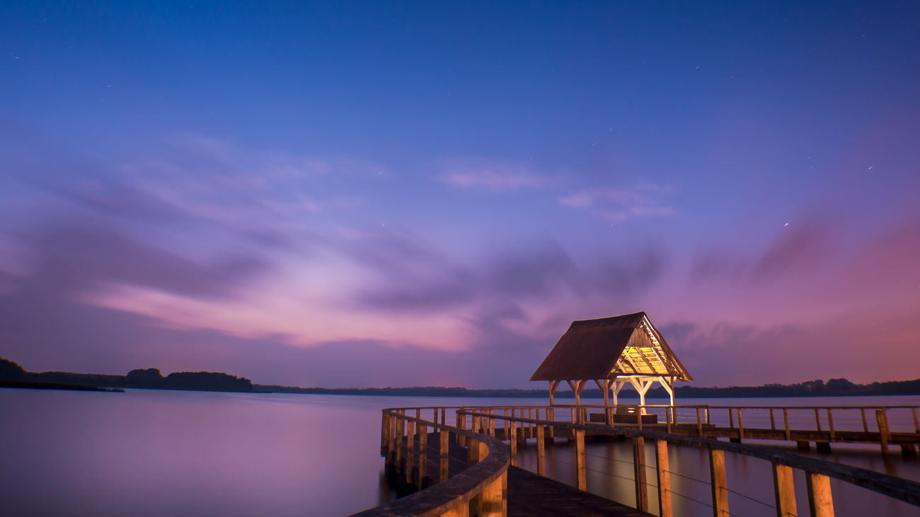 Beautiful stock photos of sterne, water, pier, sky, tranquil scene