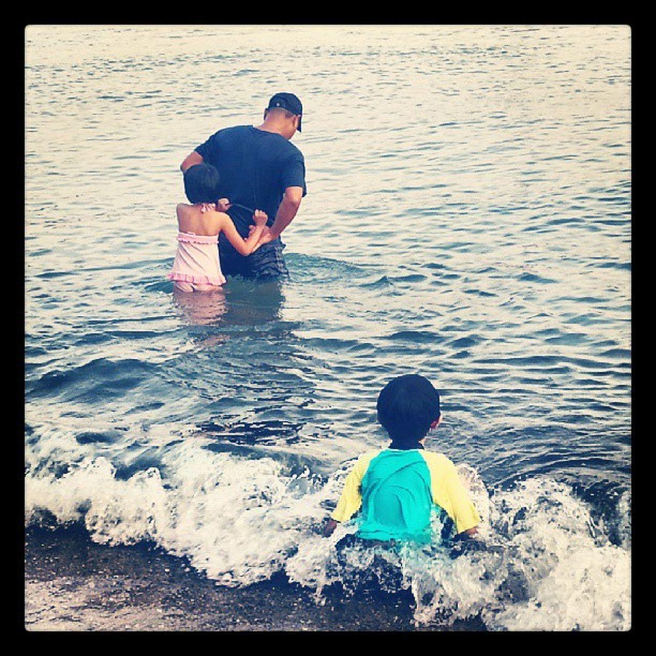很盡興的~ 沙灘的一天