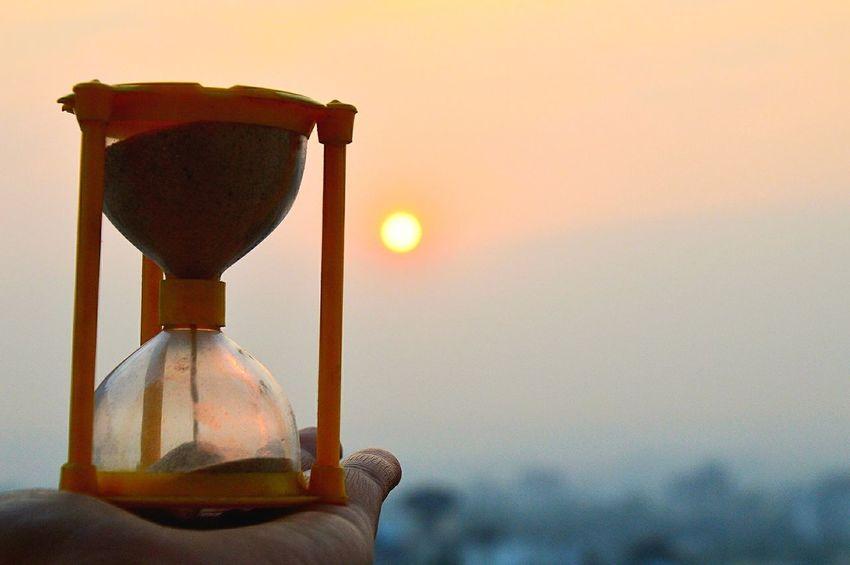 No People Nature Freshness Sky Sunrise Hourglass Close-up