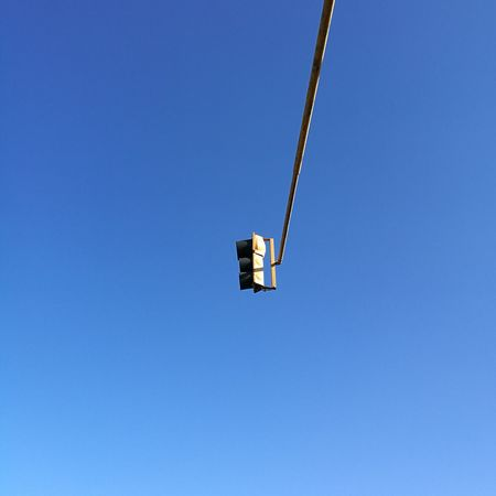Blue Clear Sky Low Angle View Sky Day No People The City Light Trafic Light