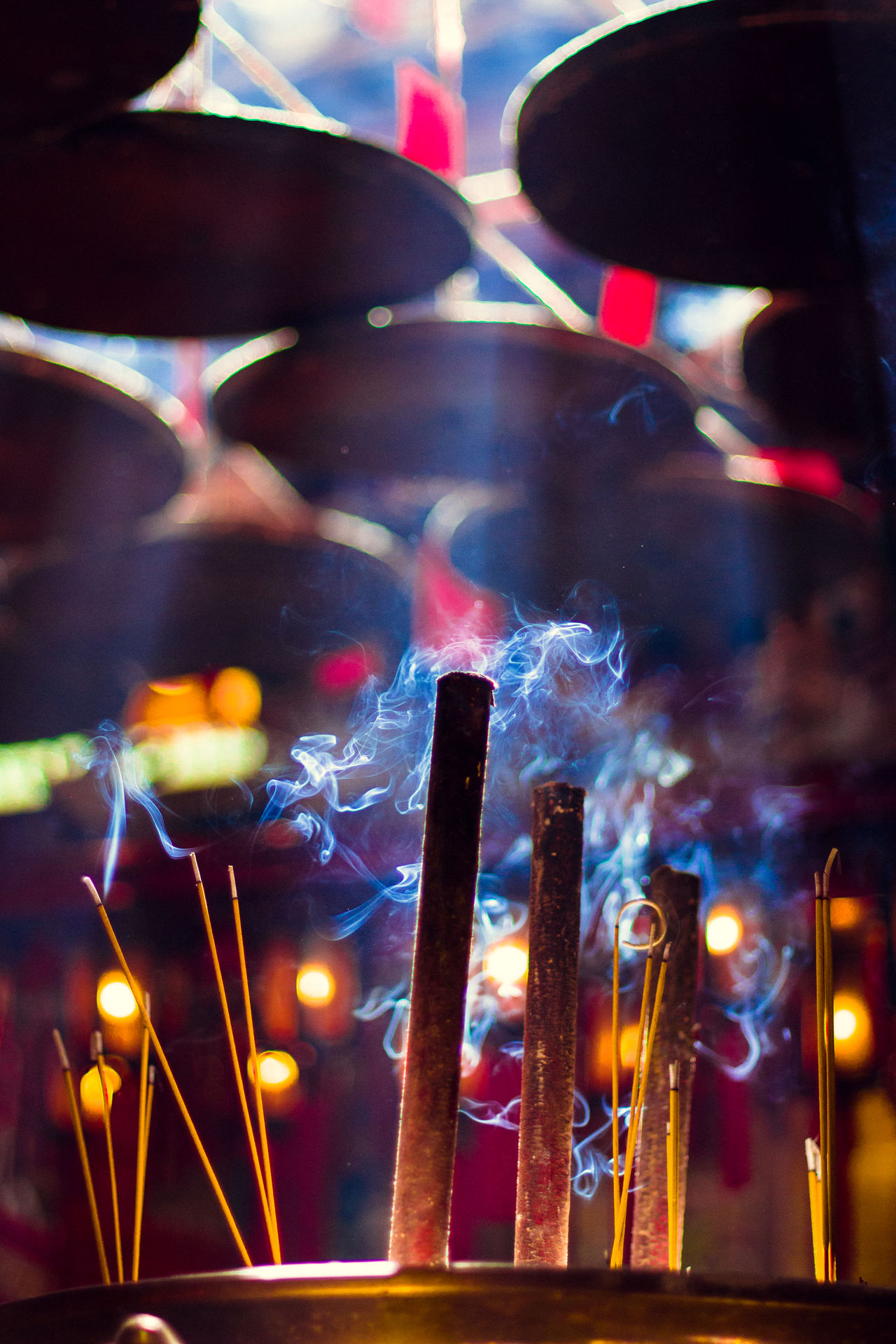 Beautiful stock photos of prayer, Burning, Emitting, Focus On Foreground, Incense