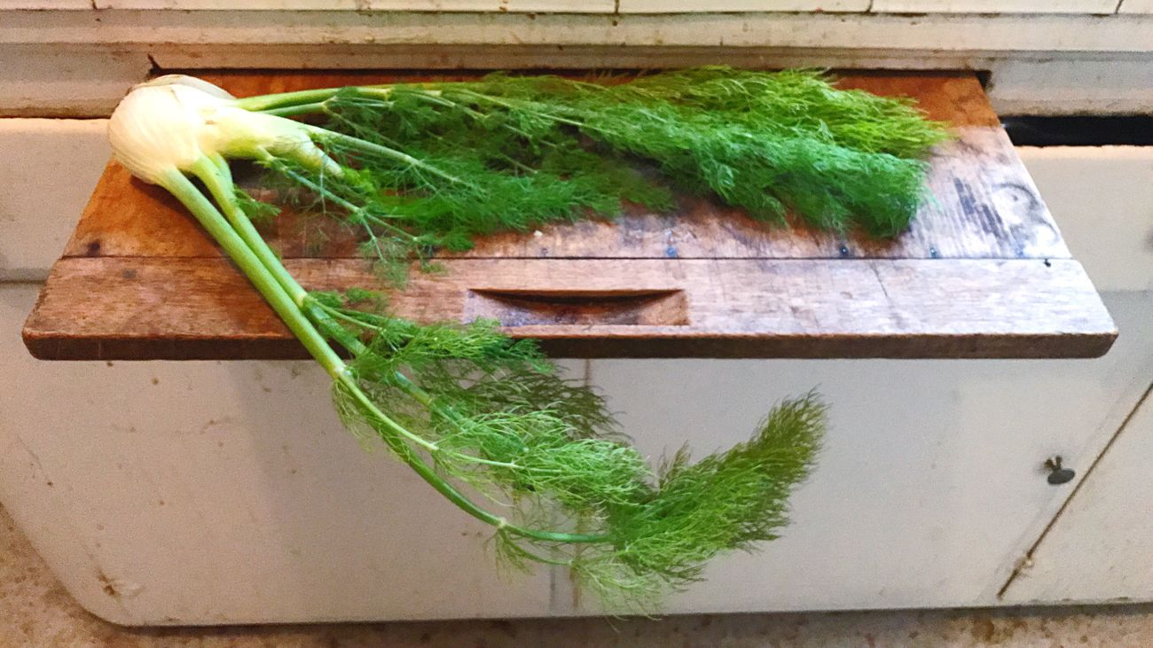 Fennel Green Color Leaf Healthy Eating Cutting Board Vegetable Freshness IPhoneography Koduckgirl