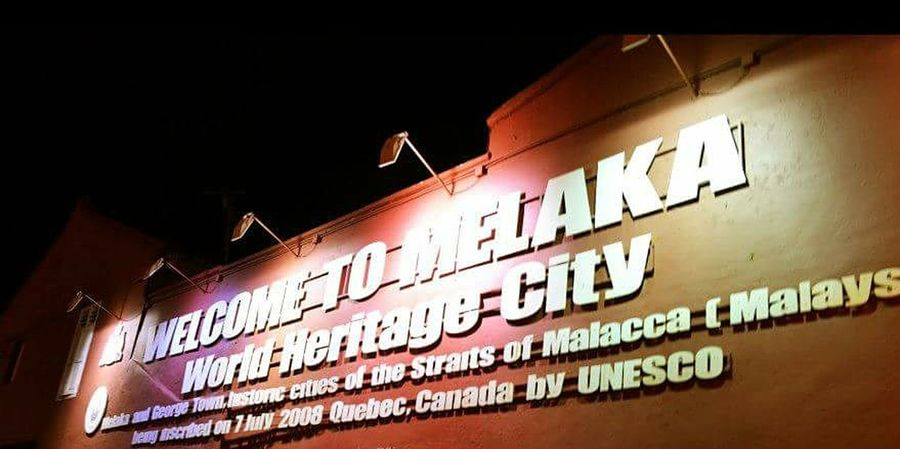 Worldheritagesite Malacca Malaysia Nightphotography Light Relaxing Missing Environment Tourist Attraction