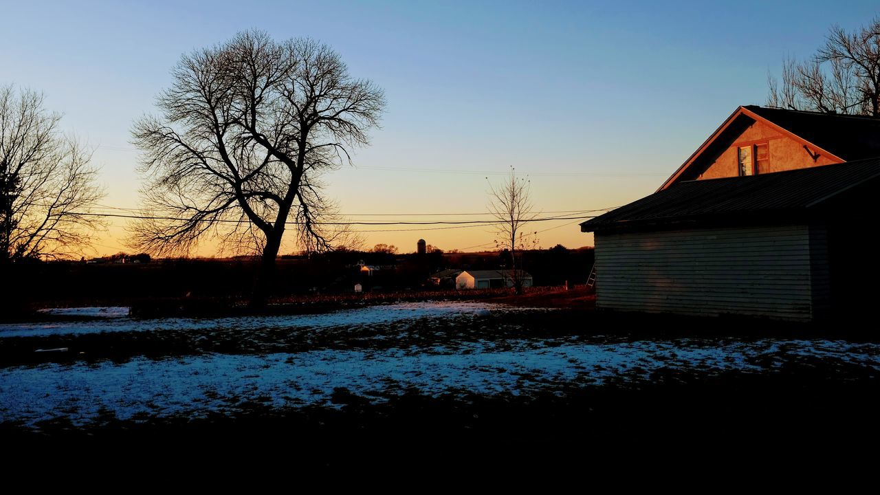 Visual Journal December 2016 Southeast Nebraska (Fujifilm X100s) edited with Google Photos. Bare Tree Building Exterior Dusk Dusk Sky Everyday Lives EyeEm Gallery Fuji X100s Light And Shadow No People Outdoors Photo Diary Photo Essay Rural America Silhouette Sky Small Town Stories Snow Sunlight Sunset Sunset Silhouettes Sunset_collection Taking Photos Tree Visual Journal Winter