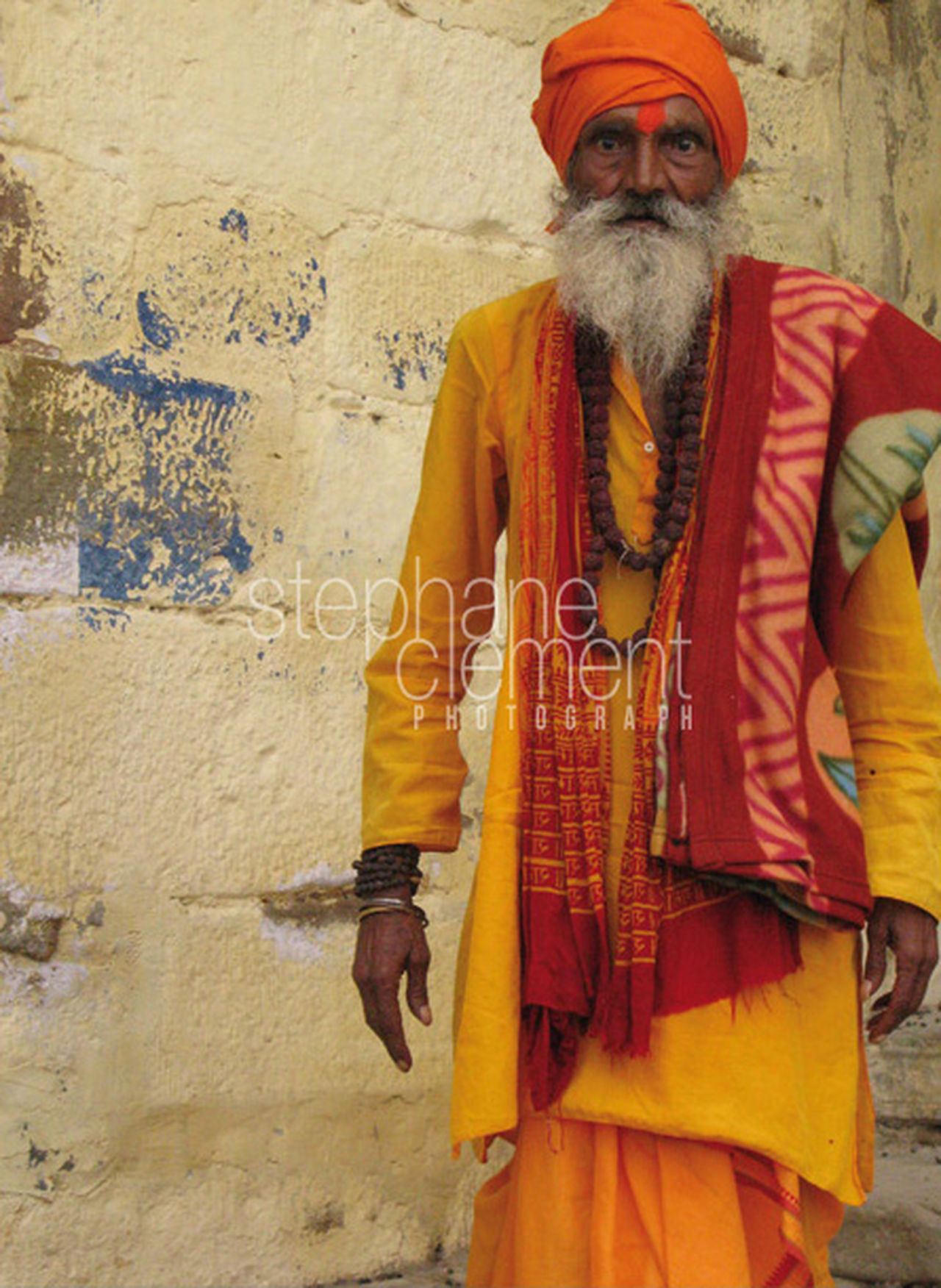Varanasi/Benarès - India Adult Beard Benares One Man Only Only Men Senior Adult Senior Men Traditional Clothing Varanasi Varanasi India Varanasi, India Ganges, Indian Lifestyle And Culture, Bathing In The Ganges,