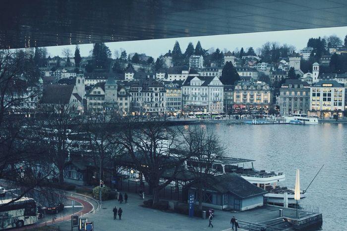 Luzern Switzerland From The Rooftop