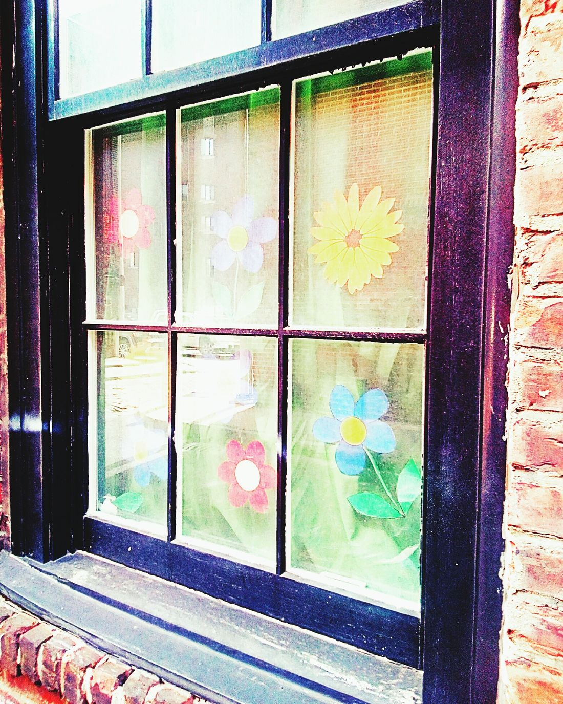 Geometric Shape Multi Colored No People Colorful Window Painted Glass Painted Glass Window