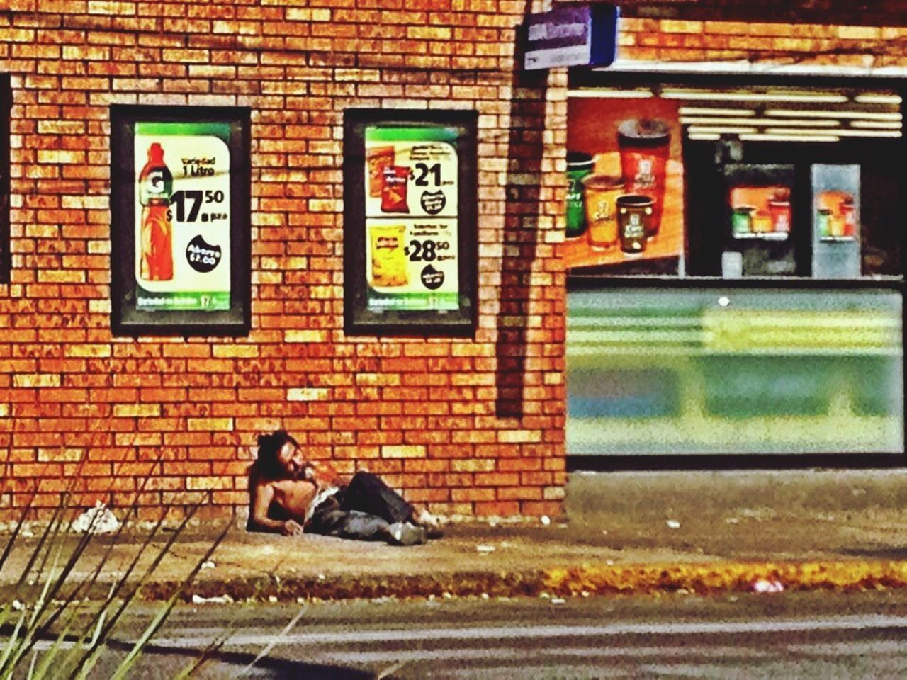 The Street Photographer - 2016 EyeEm Awards Sunbathing City Life Mexico City City Street Urbanphotography Streetphotography My Commute Suspended Wasted! Homeless Outside Oxxo Sleeping MeinAutomoment