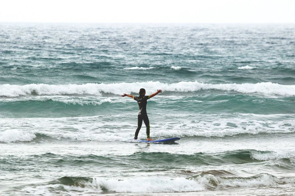 Showcase July Surf Surf's Up Open Your Arms For New Things Sea Water Surfboard New Waves Taking Risks Outside Beginnings Like IT Trying New Things Try New Experiences Exploring Sport Love It