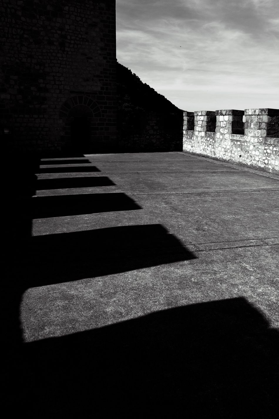 Château de Foix Architecture Blackandwhite Building Exterior Built Structure Bw Day Geometry Light And Shadow Midi-Pyrenees Monochrome Monochrome Photography No People Outdoors Pyrenees Sky Travel