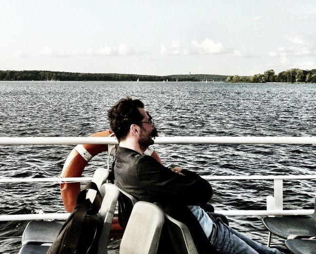 Enjoying Life On A Boat EyeEm Potsdam Meetup