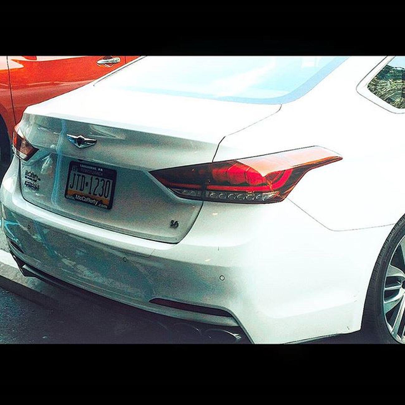 That 5.0 though! 😲😋 Hyundai Kdm Genny Genesis Gensedanrspec Gensedan Fourdoorb Rpsec