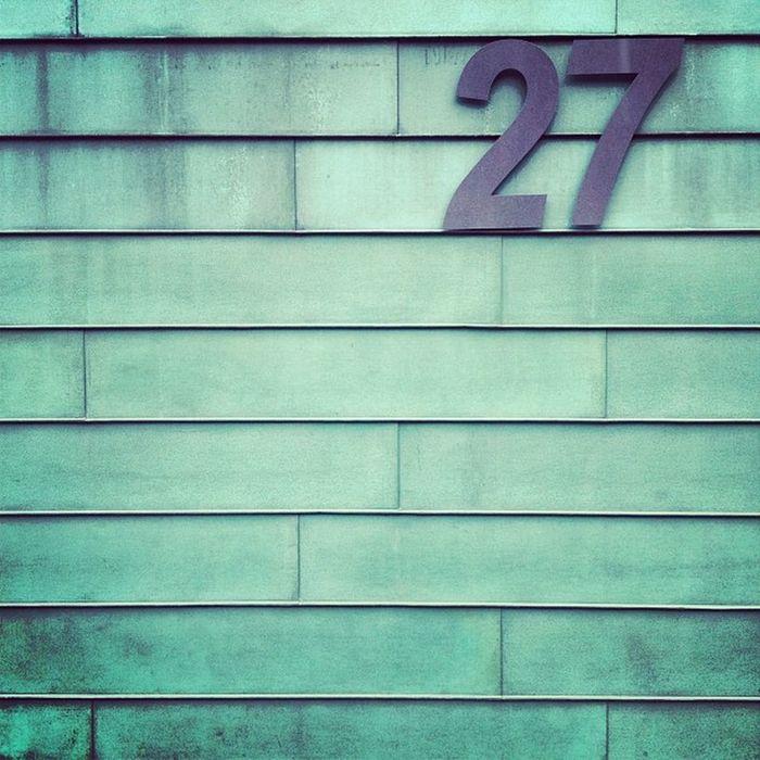 #hausnummer #27 #streetnr 27 Hausnummer Streetnr