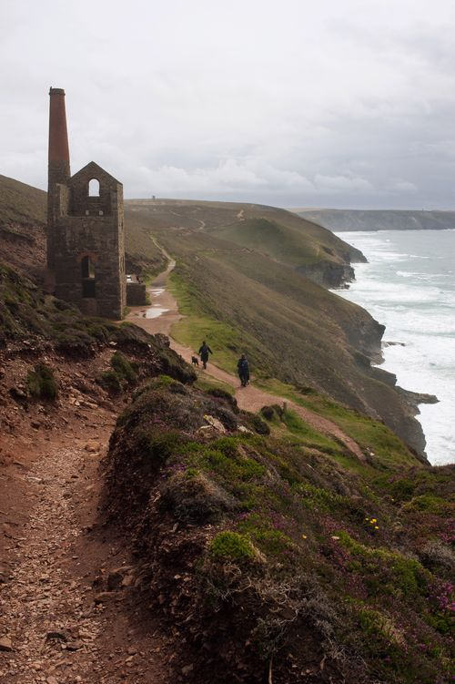 Wheal Coates Tin Mine Abandoned Cornwall Towan Roath Engine House Coastal Coast Sea Towanroath Engine House Industrial History Derelict Coastal Path Cliffs Landscapes With WhiteWall